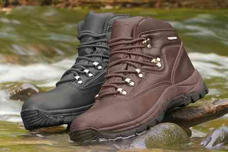 Groupon Goods Global GmbH - Unisex Waterproof Walking Boots or Shoes With Free Delivery- Save 38%