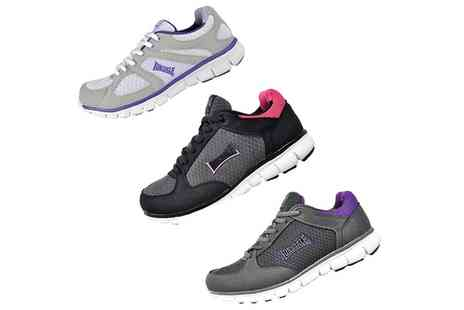 Groupon Goods Global GmbH - Lonsdale Womens Casual Gym Trainers - Save 0%