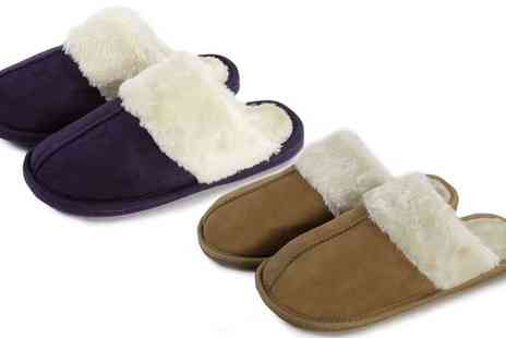 Groupon Goods Global GmbH - Womens Soft Mule Style Slippers - Save 60%