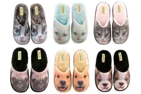 Groupon Goods Global GmbH - Womens 3D Effect Animal Design Slippers - Save 0%