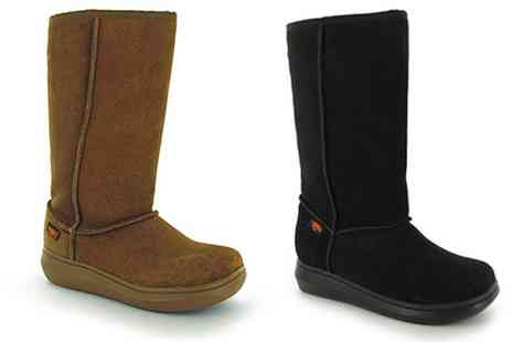 Groupon Goods Global GmbH - Womens Rocket Dog Suede Boots With Free Delivery - Save 74%