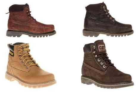 Groupon Goods Global GmbH - Womens Caterpillar Willow and Bruiser Boots With Free Delivery - Save 52%