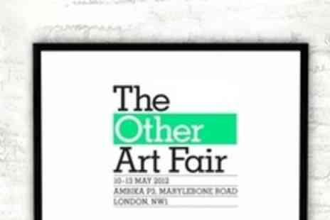 The Other Art Fair -  Two Public Viewing Tickets - Save 50%