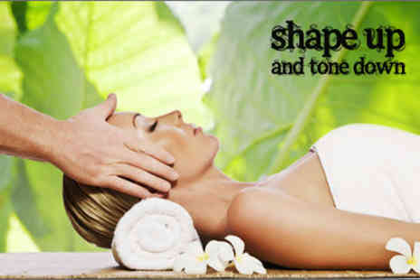 Shape up tone down - Garra Rufa fish pedicure & a Chinese facial - Save 70%