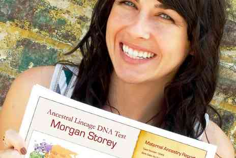 DNA Diagnostics Centre - Male or Female Ancestry DNA Test - Save 53%