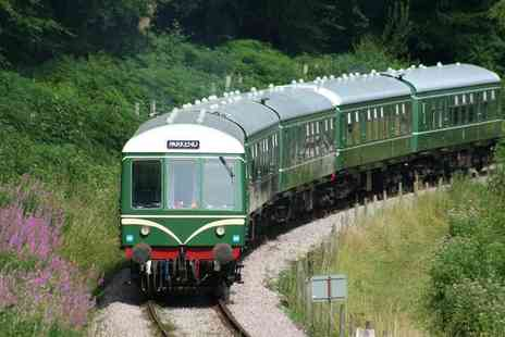 Dean Forest Railway Company - One Day Unlimited Train Travel Tickets - Save 33%