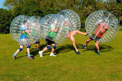 Streetwise Soccer - Zorb Football Chester One Hour Match For Up to 10 - Save 33%