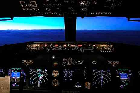 Flight Simulators Midlands - One Hour Motion Flight Simulator Experience - Save 40%