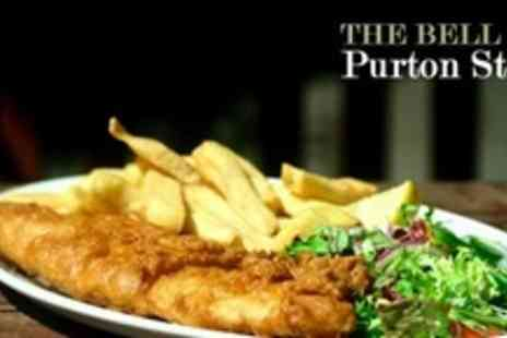 The Bell Inn - Two Courses of British Fare For Four - Save 56%