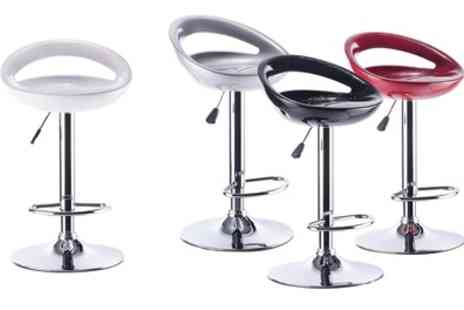 Groupon Goods Global GmbH - Set of Two Bar Stools With Free Delivery - Save 0%