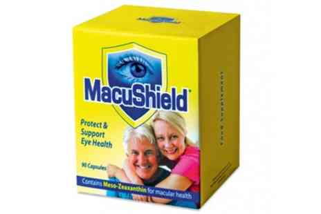 Groupon Goods Global GmbH - 90, 180 or 270 Capsules of Macushield Eye Supplement With Free Delivery - Save 42%