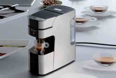 Groupon Goods Global GmbH - Hotpoint for Illy Coffee Maker With Free Delivery - Save 76%