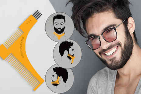 Forever Cosmetics - Groomerang Beard Shaping and Styling Comb - Save 80%