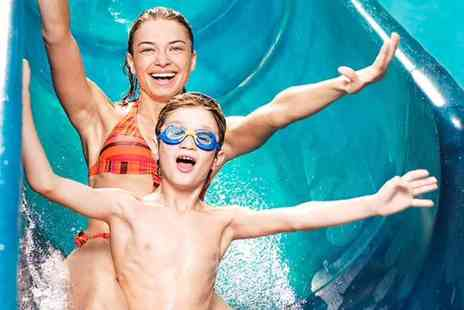 WaterWorld - Aqua park entry for one adult or  family of four or family of five - Save 25%