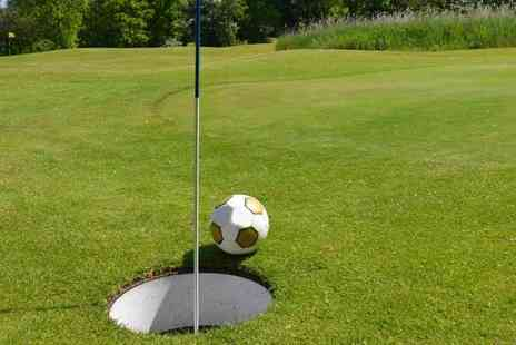 South Leeds Foot Golf - Game of 12 hole foot golf for two - Save 50%