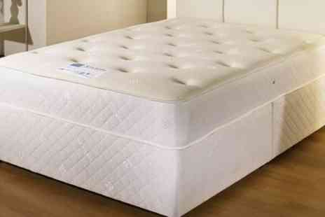 Groupon Goods Global GmbH - 3000 Cool Blue Pocket Mattress With Free Delivery  - Save 76%