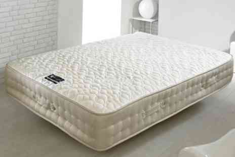 Groupon Goods Global GmbH - Milk Vitality Foam Mattress in Choice of Size With Free Delivery - Save 65%