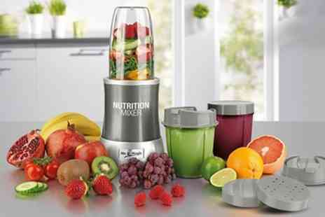 Groupon Goods Global GmbH - 10 Piece Mr Magic Nutrition 700W Blender Set With Free Delivery  - Save 77%