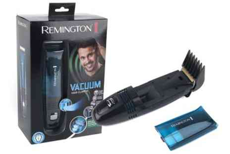 Groupon Goods Global GmbH - Remington Vacuum Hair Clipper and Trimmer With Free Delivery  - Save 50%