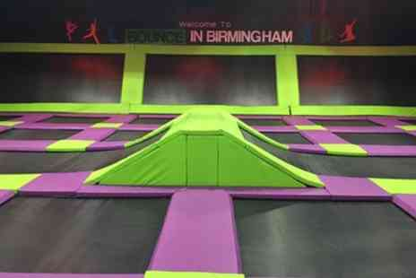 Bounce in Birmingham - One Hour Bounce Session for Up to Four - Save 33%