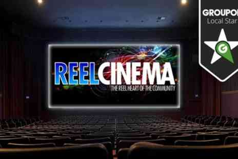 Reel Cinemas - Two Tickets to Reel Cinema - Save 50%
