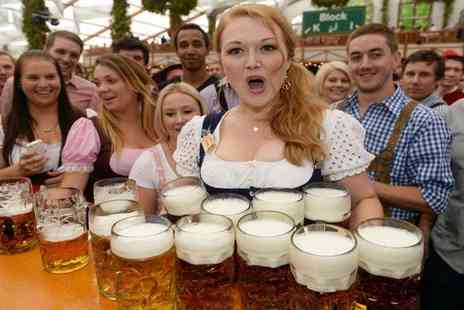 Newcastle Oktoberfest - Oktoberfest Tickets with German Beer and Food - Save 45%