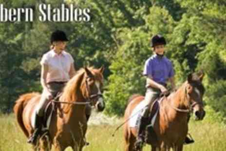 Kathbern Stables - One Private Horse Riding Lesson - Save 60%