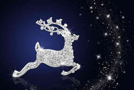 Your Ideal Gift - Reindeer brooch - Save 88%