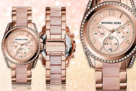 The Watch Supermarket - Ladies Michael Kors MK5943 rose gold plated bracelet strap watch - Save 53%