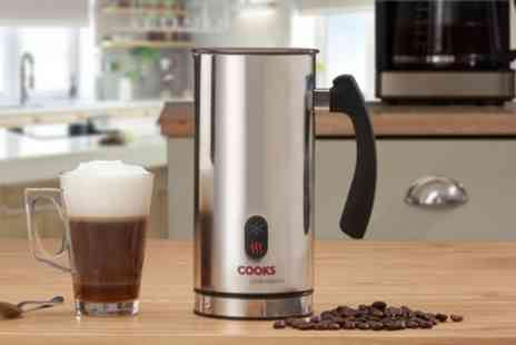 Groupon Goods Global GmbH - Cooks Professional Milk Frother With Free Delivery  - Save 29%