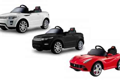 Groupon Goods Global GmbH - Kids Electric Cars in Choice of Designs With Free Delivery - Save 28%