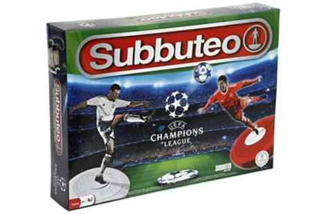 Groupon Goods Global GmbH - UEFA Champions League Subbuteo Game With Free Delivery - Save 0%