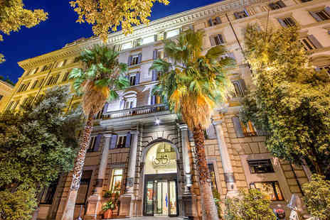 Hotel Savoy Rome - Four Star 4 nights Stay in a Classic Room - Save 70%