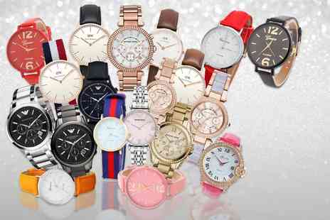 The Watch Supermarket - Mystery Watch Deal for him or her and get a simply stunning Micheal Kors, Emporio Armani, Daniel Wellington, Lily Mae and more - Save 0%
