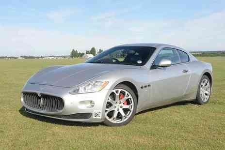 Supercar Test Drives - Weekday or Weekend three lap Maserati driving experience - Save 74%