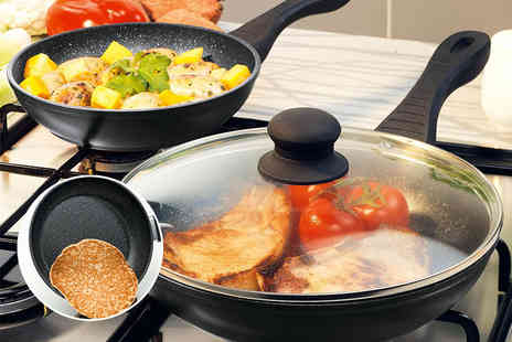 Chums - Two piece stone pan set - Save 64%