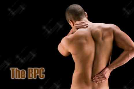 The City Back Pain Centre - Chiropractic Examination, Spinal Screening with Three Chiropractic Treatments for £34  - Save 78%