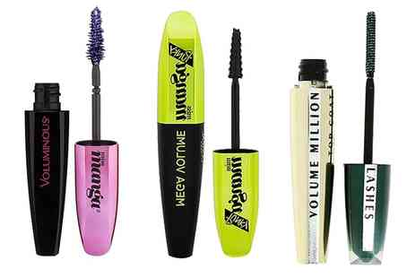 Groupon Goods Global GmbH - Set of Two or Three LOreal Mascaras - Save 75%