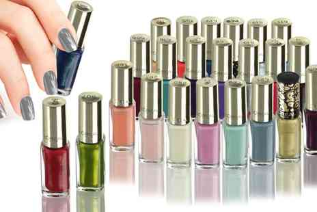 Groupon Goods Global GmbH - LOreal Colour Richie Nail Polish Lucky Dip Five or Ten - Save 65%