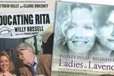 Malvern Theatres - Four Tickets to See Either Educating Rita or Ladies - Save 62%