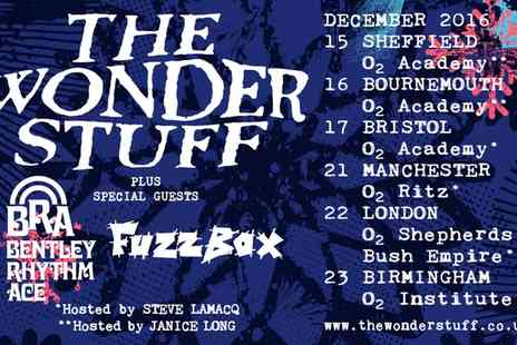 Academy Music Group - The Wonder Stuff, General Admission Ticket on 15 to 23 December - Save 0%