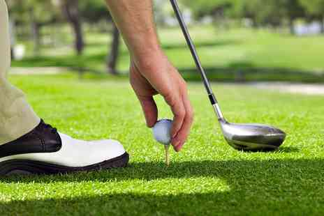 Chandlers Ford Golf Academy - Driving Range Balls Plus Burger and Beer - Save 0%