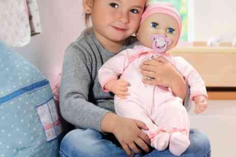 Groupon Goods Global GmbH - Baby Annabell Mia So Soft Doll With Free Delivery - Save 0%