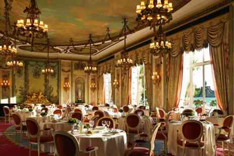 The Michelin Starred Ritz Restaurant - Three Course Meal with Champagne for Two - Save 25%