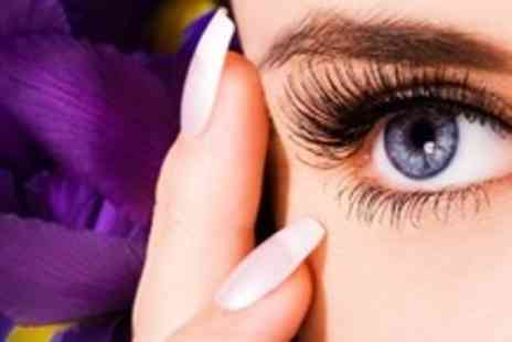 ABsolutely FABulous - Individual Eyelash Extensions Plus Eyebrow Wax and Manicure - Save 71%