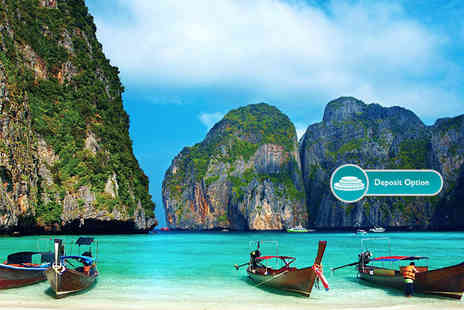THG Holidays - 12 night Thailand island hopping trip including flights, private transfers and ferry - Save 27%