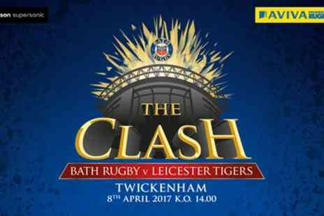 Bath Rugby - The Clash Bath Rugby vs Leicester Tigers on 8 April 2017 for Child or Adult - Save 0%