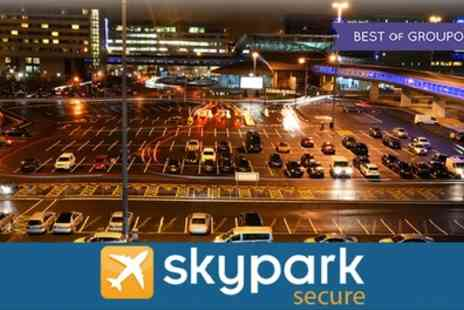 Sky Park Secure - Park and Ride Four Days - Save 0%