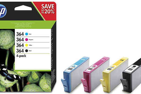 Cartridge King - HP 364 Black and Colour Combo Ink Pack - Save 8%