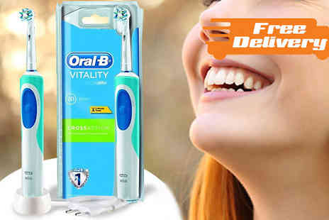 Trizinga - Oral B Pro Vitality Cross Action Electric Toothbrush - Save 0%
